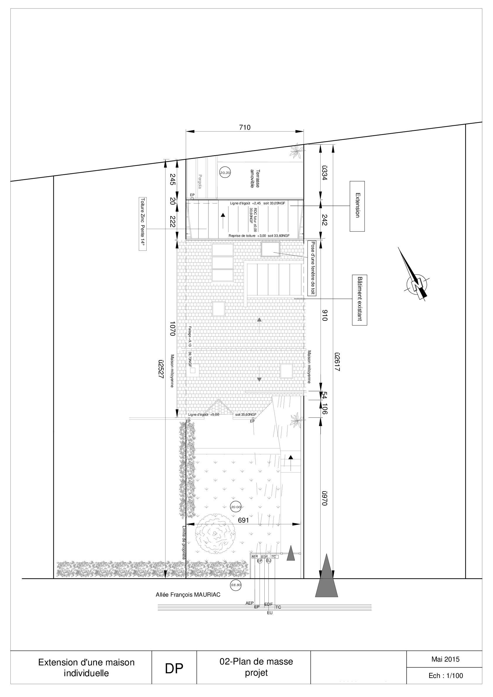 extension-ossature-bois-rennes-plan